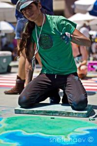 Pasadena Chalk Art Festival 2011