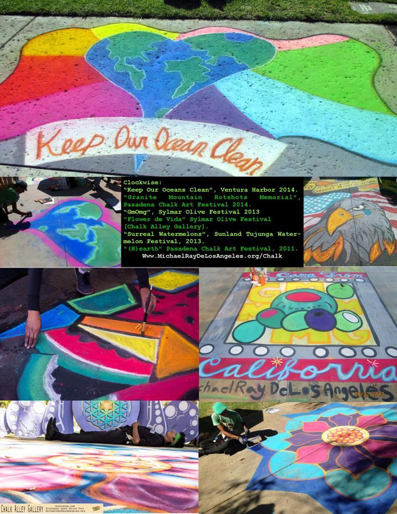 Chalk Artist portfolio