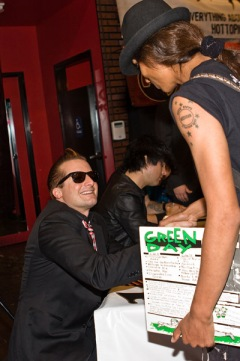 Tre Cool, Green Day Album Signing