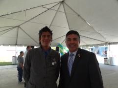 Michael Ray With Councilman Tony Cardanez