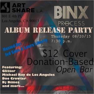 Binx Process Album Release Party