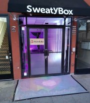 Sweatybox is located at 8285 Santa Monica Blvd in West Hollywood
